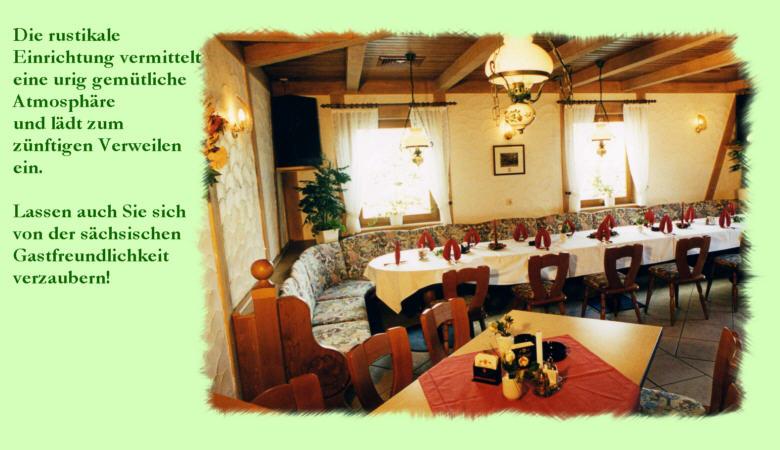 Das Restaurant Am Goldbach lädt zum Verweilen ein